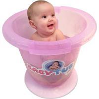 Banheira Babytub - Baby Tub - Feminino-Rosa