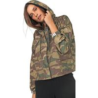 Jaqueta Corta Vento Adidas Originals Camuflada Verde/Marrom