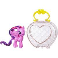 Figura My Little Pony Com Bolsa - Princess Twilight - Hasbro - Feminino-Incolor