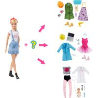 Boneca Barbie - Barbie Carreira - Carreira Surpresa - 8 Surpresas - Mattel