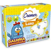 Fralda Luxo Galinha Pintadinha - Cremer - Unissex