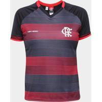 Camisa Flamengo Care Feminina - Feminino-Preto