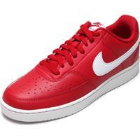 Tênis Nike Sportswear Court Vision Lo Vermelho