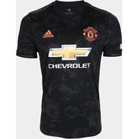 Camisa Manchester United Third 19/20 S/Nº Torcedor Adidas Masculina - Masculino