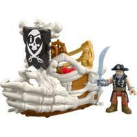 Playset Imaginext - Pirata - Billy Bones Boat - Mattel - Masculino-Incolor