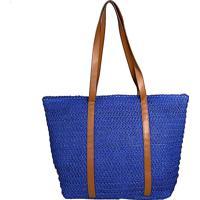 Bolsa Its! Palha Azul Royal