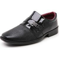 Sapato Infantil Mr Shoes Verniz Preto