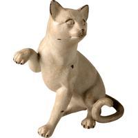 Escultura Decorativa De Resina Gato