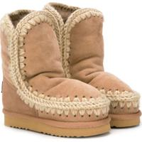 Mou Kids High Eskimo Boots - Neutro