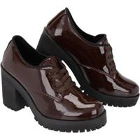 Sapato Oxford Cano Curto Selten Feminino - Feminino