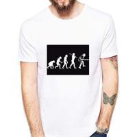 Camiseta Coolest Rock Evolution Masculina - Masculino-Branco