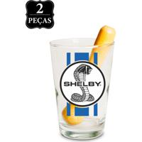 Kit Caipirinha Vaca & Cia Shelby Performance Basic Branco.