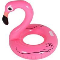 Boia Inflável Redonda Flamingo - Unissex