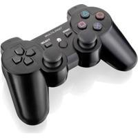 Controle Gamer Sem Fio - 3 Em 1 - Ps3 - Ps2 E Pc - Preto - Multikids