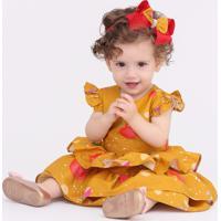 Vestido Taci Cidade Baby Amarelo