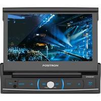 """Dvd Player Automotivo Pósitron Sp6320Bt Com Tela 7"""" Touch Screen, Bluetooth, Usb, Sd-Card, Entrada Auxiliar E Controle Remoto"""