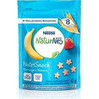 Biscoito Nestlé Naturnes Nutrisnack Morango E Banana 42G