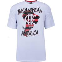 Camiseta Do Flamengo Moment X - Masculina - Branco