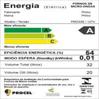 Micro-Ondas Philco Pmo33E 32L 1400W 127V