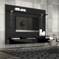 Painel Para Tv 60 Polegadas Horizon Preto Touch E Preto Gloss 218 Cm