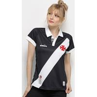 Camisa Vasco I 19/20 S/Nº Torcedor Diadora Feminina - Feminino