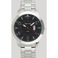 Relógio Analógico Technos Masculino - 2115Ktm/1P Prateado - Único