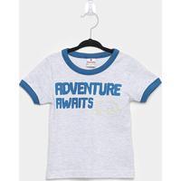Camiseta Infantil Brandili Adventure Masculina - Masculino