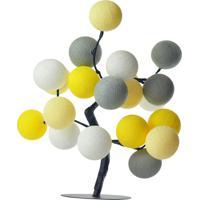 Árvore De Luz Roma Cormilu Amarelo