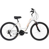 Bicicleta Schwinn Madison Aro 26 - Freios V-Brake - Câmbios Shimano - 21 Marchas - Feminina - Branco