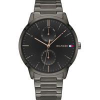 Relógio Tommy Hilfiger Masculino Aço Cinza - 1710412