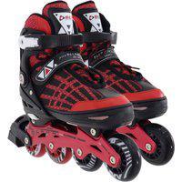 Patins Rollers Inline Aluminium Premium Vermelho Bel Sports Incolor