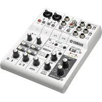 Mesa De Som E Interface De Áudio Para Streamer Yamaha Ag06, 6 Canais, Branco - 59257