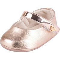 Sapatilha Klin Bebê - Feminino-Ouro