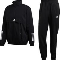 Agasalho Adidas Mts Tech Preto