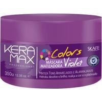 Skafe Violet Skafe Keramax Colors Máscara Matizadora 350G - Unissex-Incolor