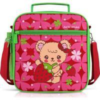 Lancheira Térmica Infantil Jacki Design Feminina - Feminino-Pink
