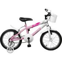 Bicicleta Master Bike Aro 16 Feminina Free Girl Rosa