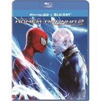 O Espetacular Homem-Aranha 2 Blu Ray 3D + Blu Ray Filme Ação