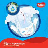 Fralda Huggies Tripla Proteção Tamanho Xg 42 Tiras