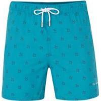 Shorts Pierre Cardin Mykonos Masculina - Masculino-Azul