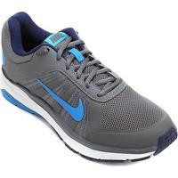 Tênis Nike Dart 12 Msl Masculino - Masculino-Cinza+Azul