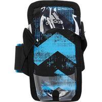 Suporte Celular Adidas - Unissex-Preto+Azul