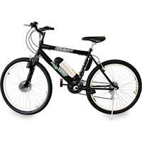 Bicicleta Tecbike Elétrica Aro 26 Bat. De Litio Tec-City V2 Preto