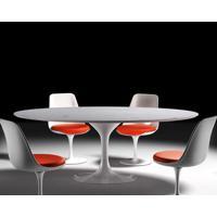 Mesa Jantar Saarinen 1,98X1,22 Marmore Carrara Branco 19560 - Sun House