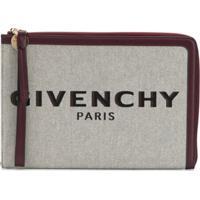 Givenchy Bond Zipped Clutch - Neutro