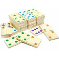 Jogo Domino Gigante Em Madeira 3+