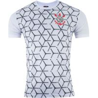 Camiseta Do Corinthians Square - Masculina - Branco