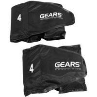 Par Caneleira Black Edition Ajustável 4 Kg Gears - Unissex