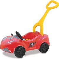 Carrinho Xalingo Xtreme Com Empurrador - Pedal - 4898 - Vermelho
