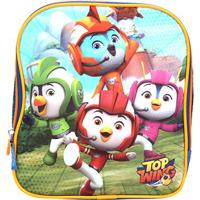 Lancheira Escolar Infantil Pacific Top Wing Nickelodeon Squad - Masculino-Azul